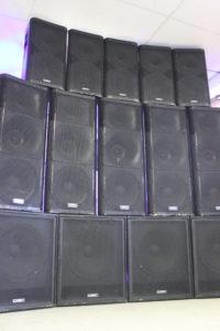 QSC Speaker Rentals