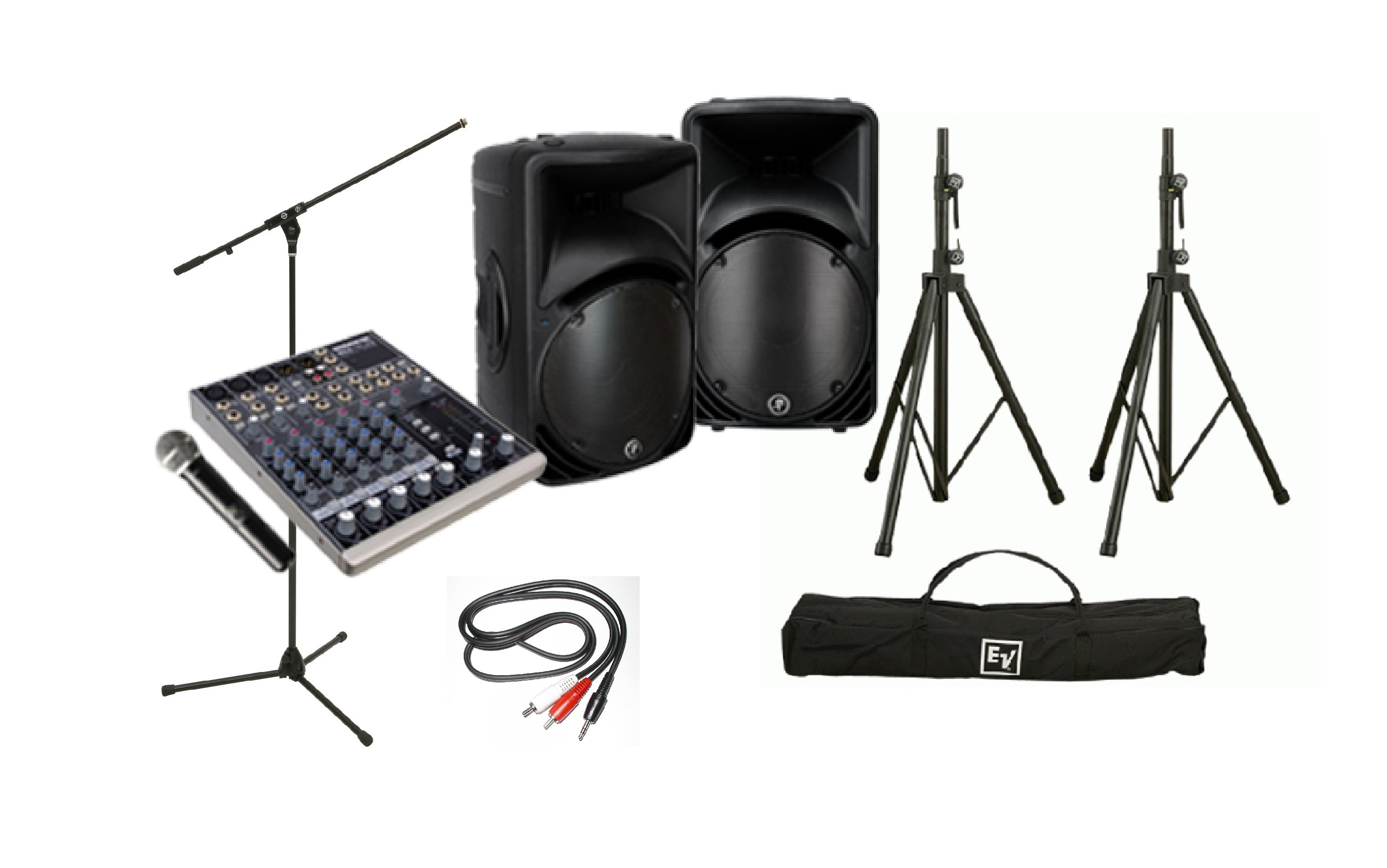 Public Address Sound System Rental Calgary Show Services